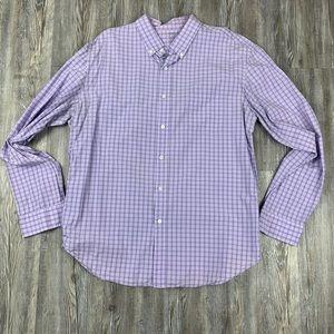 J.Crew Lightweight Purple Long Sleeve Shirt